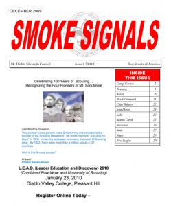 Smoke Signals - December 2009